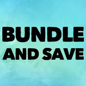 Save 15% when you bundle 3 or more
